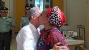 El beso de la paz