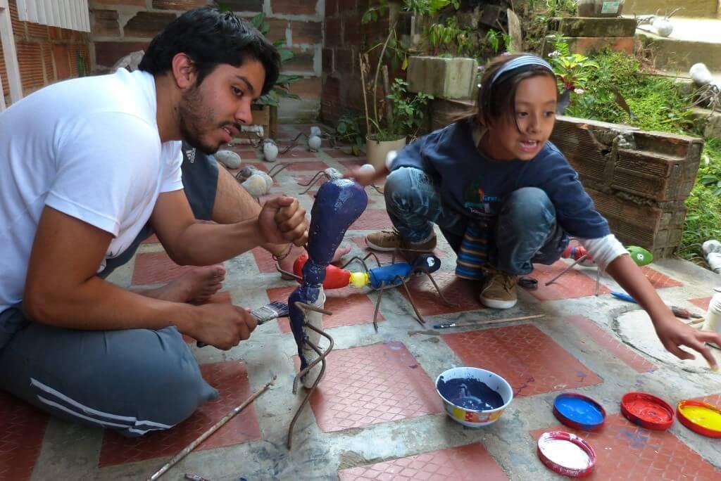 Las hormigas negras de Itagüí