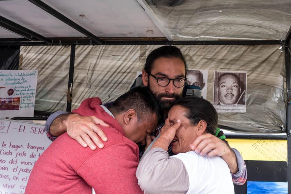 Peñalosa y el Campamento por la Paz: alguien mintió sobre el desalojo