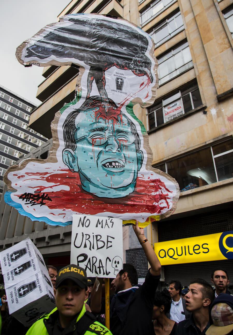 Resultado de imagen para marcha antiuribista