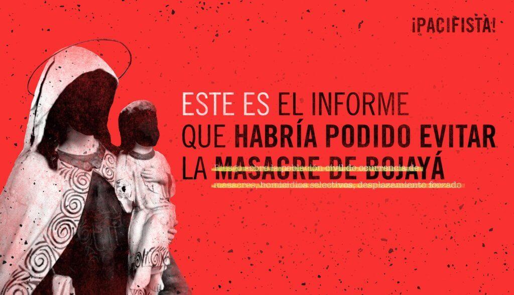 15 años de Bojayá: Revisamos el documento que habría podido evitar la masacre