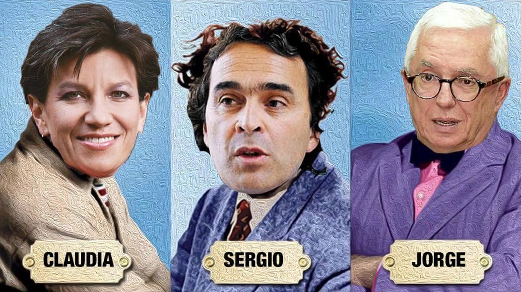 Claudia López, Sergio Fajardo y Jorge Robledo: una posible decepción