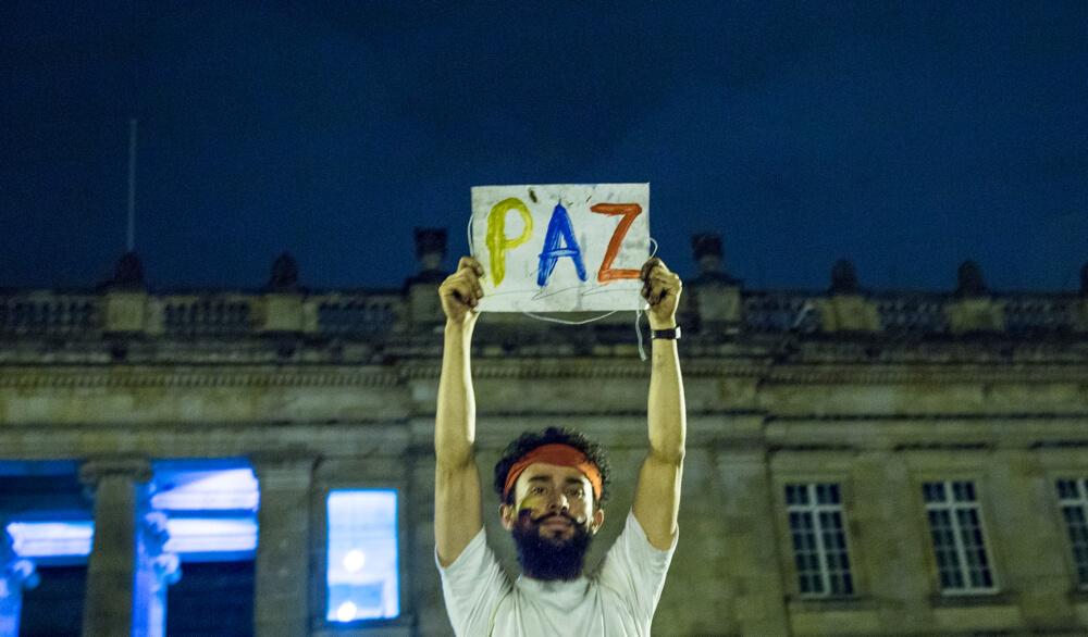 En imágenes: Bogotá marchó y pidió un acuerdo ya