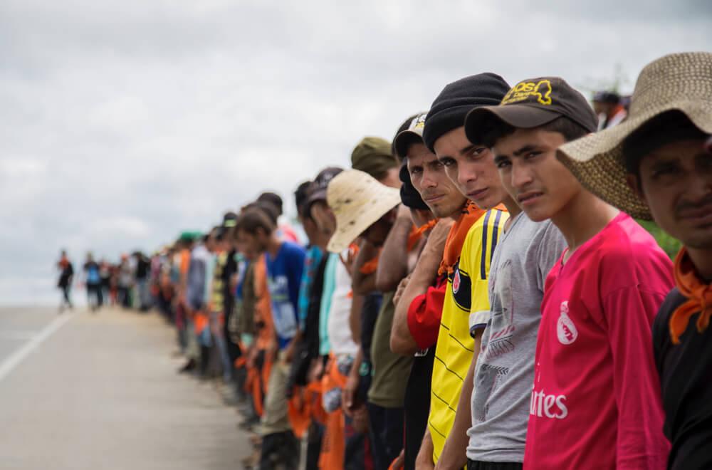 Así se preparan para un paro agrario los campesinos del Catatumbo