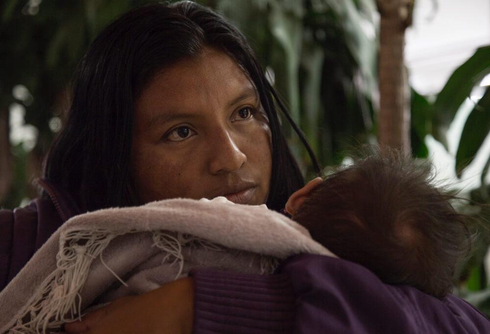 Una indígena wayuu se enfrentó a Cerrejón por la salud de su hijo