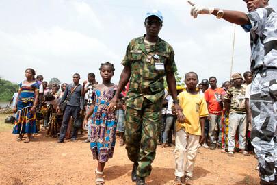 Fuerzas de Naciones Unidas en Costa de Marfil. Foto: ONU