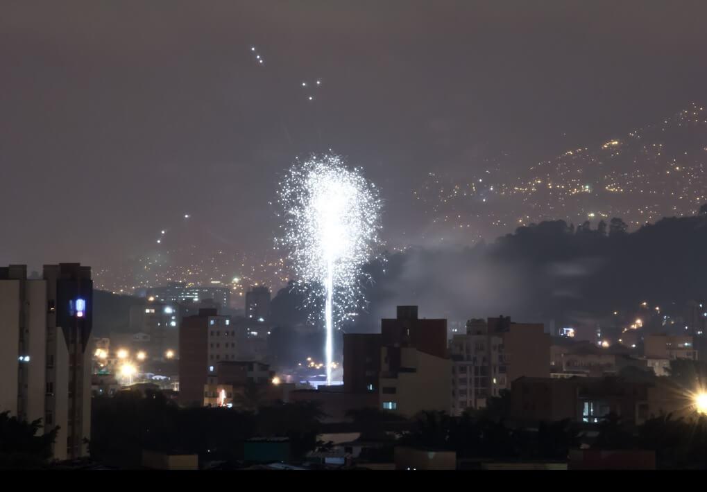 La explosión traqueta que vive Medellín todos los 30 de noviembre