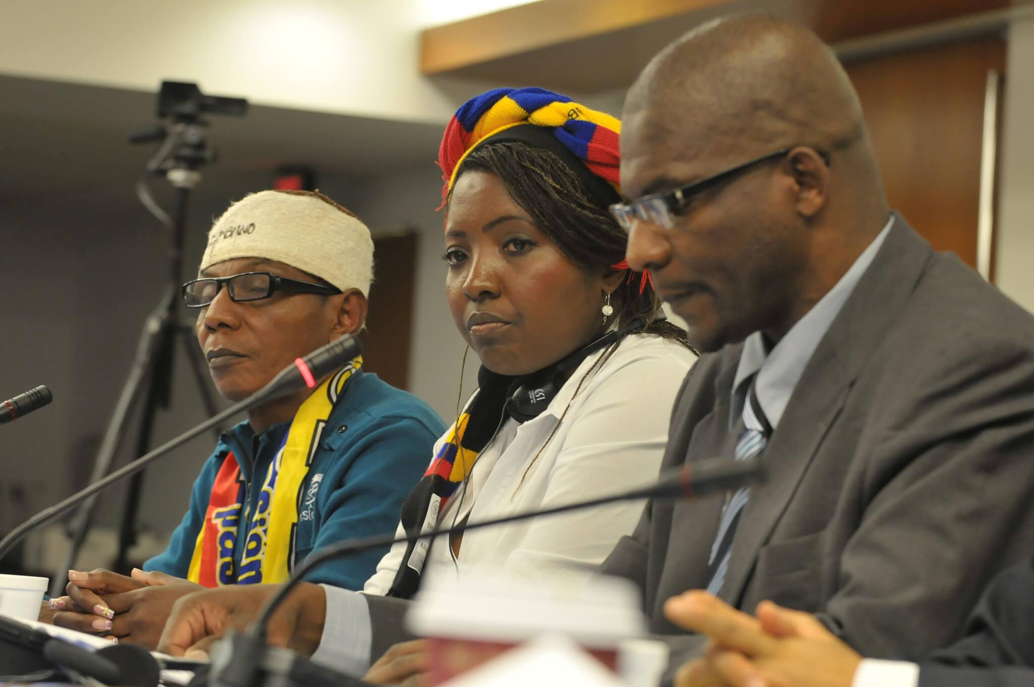 Amenazan a tres líderes afro, y las autoridades no actúan