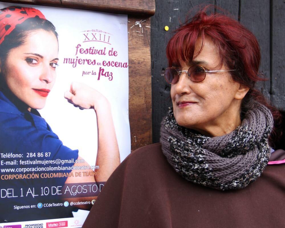 """""""Con las víctimas he aprendido a convertir el dolor en fuerza"""": Patricia Ariza"""