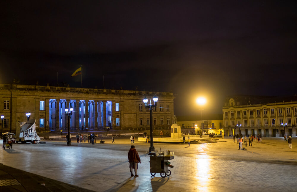 Crónica de una Bogotá en silencio