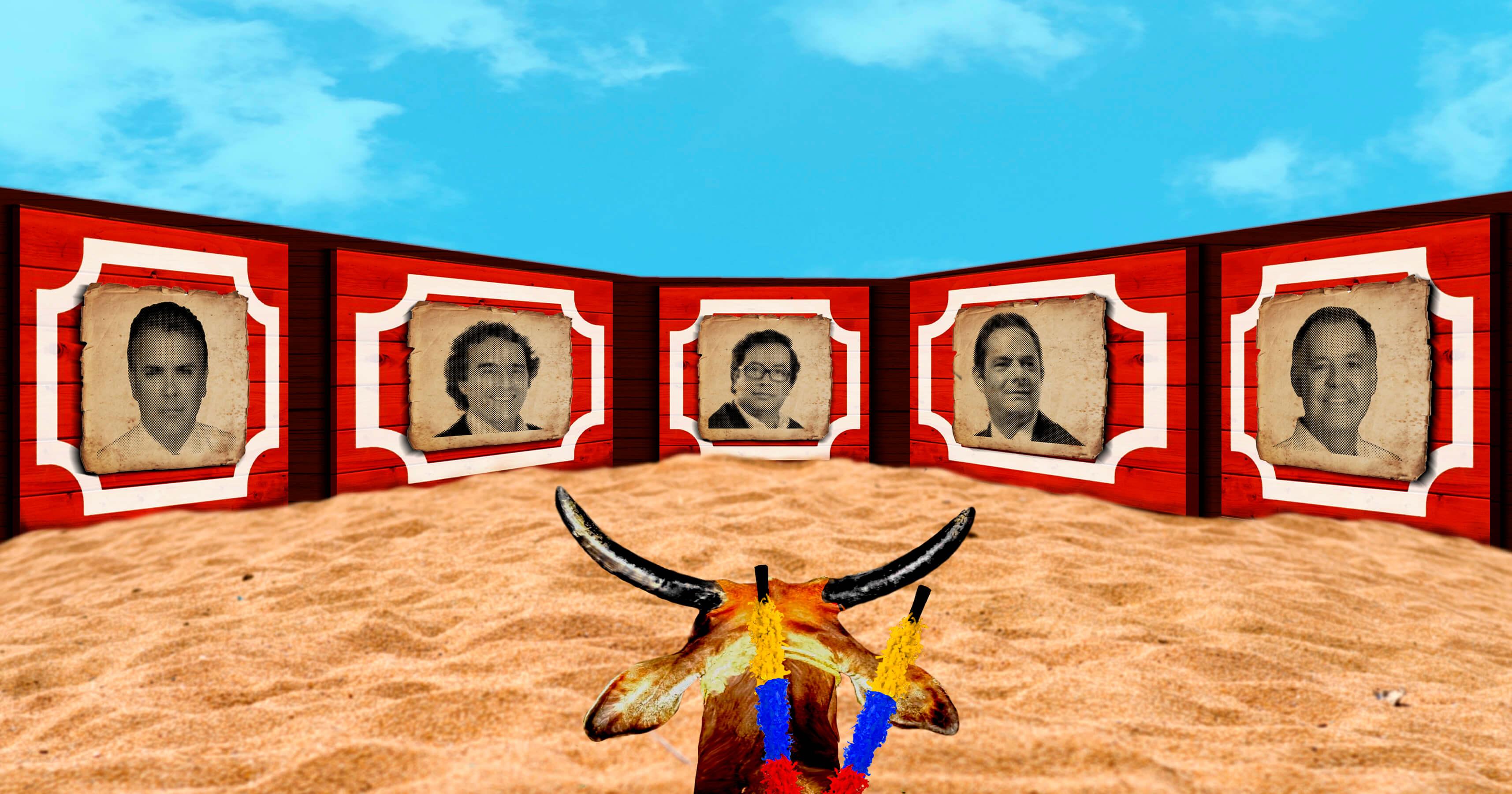 ¿Qué candidatos cree que irían a la plaza de toros este fin de semana?