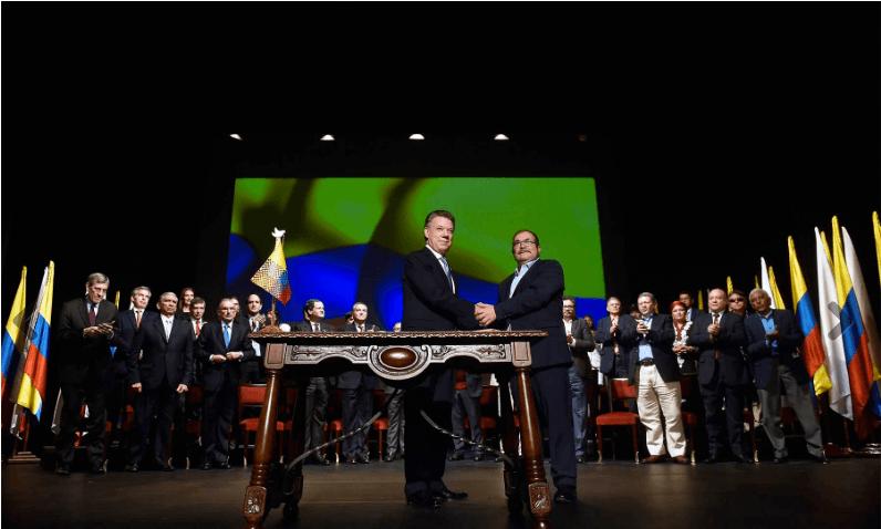 En Colombia la paz la están haciendo sólo los hombres