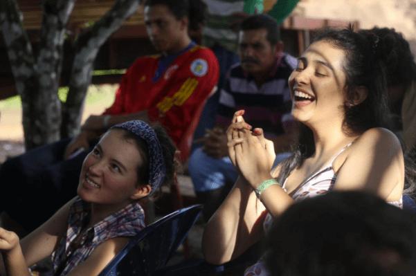 Estudiantes en una zona veredal: dos mundos que se encontraron