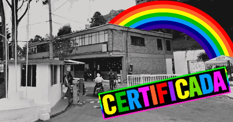 Chapinero tiene la primera estación de policía 'LGTB friendly' del país