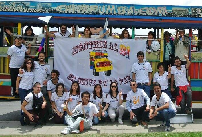 La Chiva pa' la paz: creatividad para mostrar los acuerdos