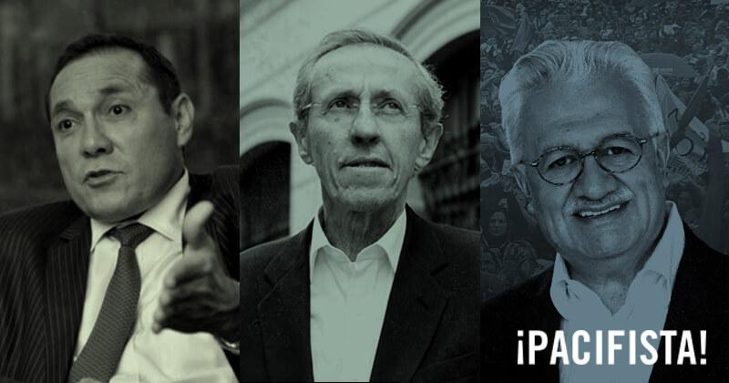 Tres políticos que dejaron las armas y ganaron con los votos