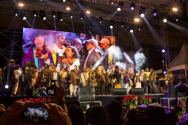 El triunfo de la paz: una crónica del concierto de la(s) Farc en Bogotá