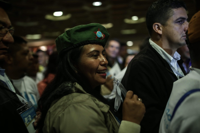 En imágenes: Así comenzó el congreso de las Farc en el Tequendama