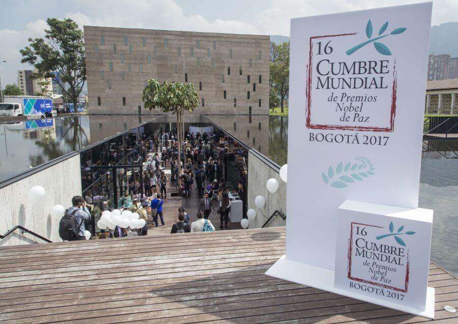 Bogotá será la casa de los nobeles de Paz en 2017