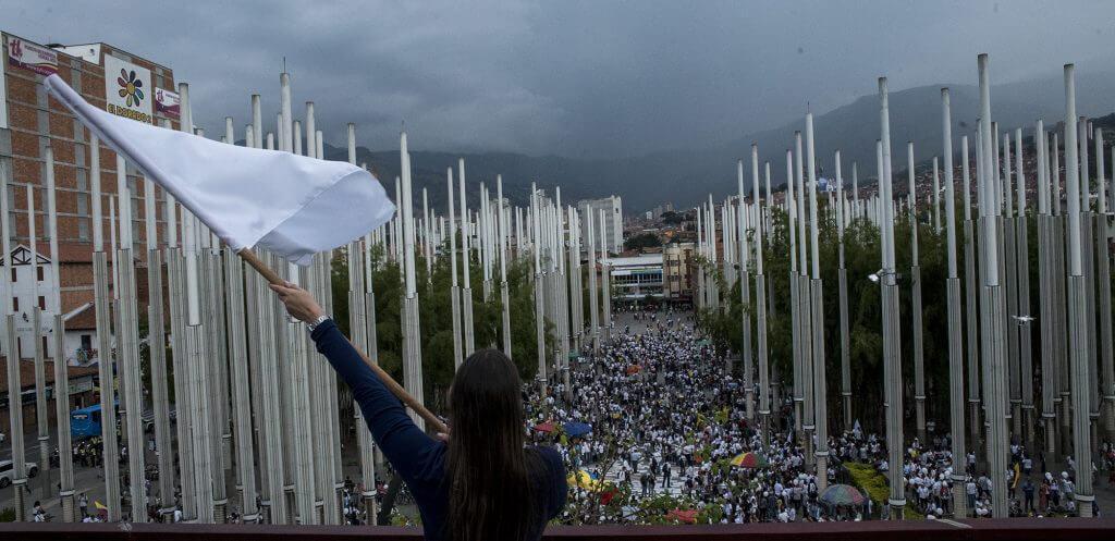 Medellín también sacó la paz a la calle