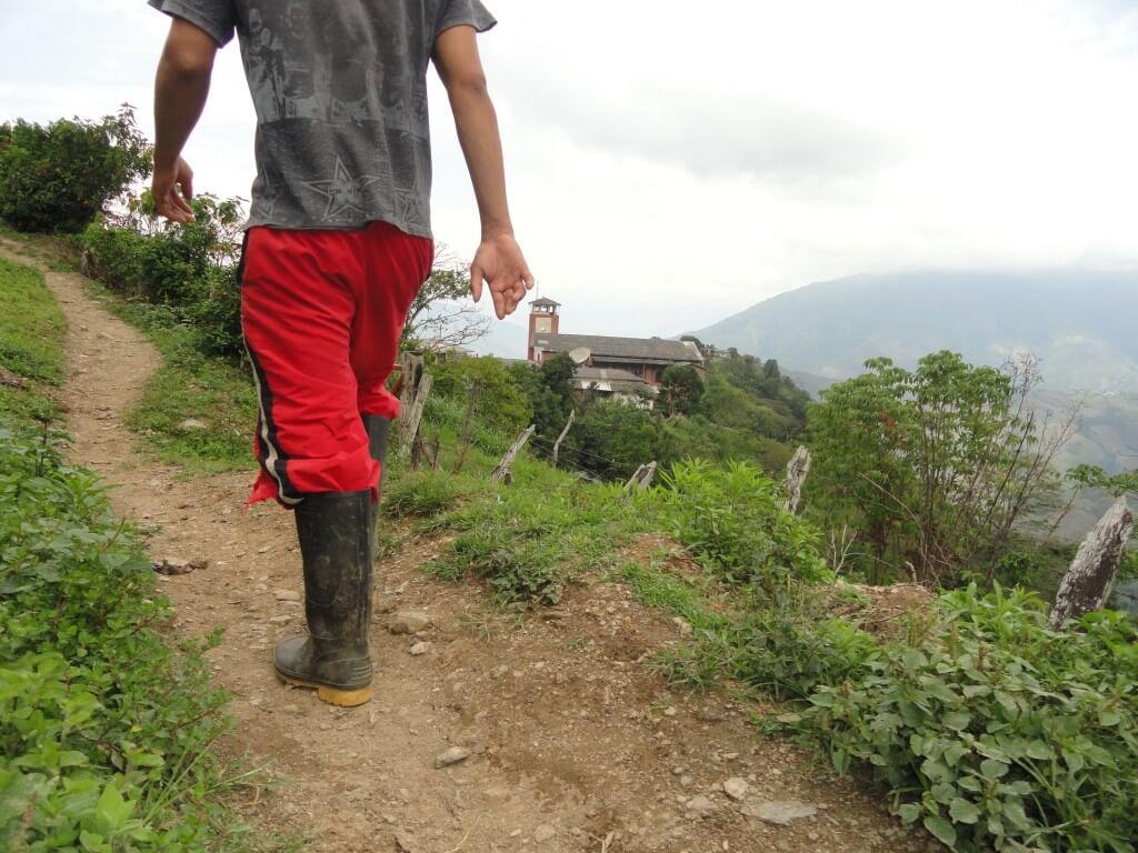 Así es Ochalí, el pueblo que no pudo visitar Fajardo