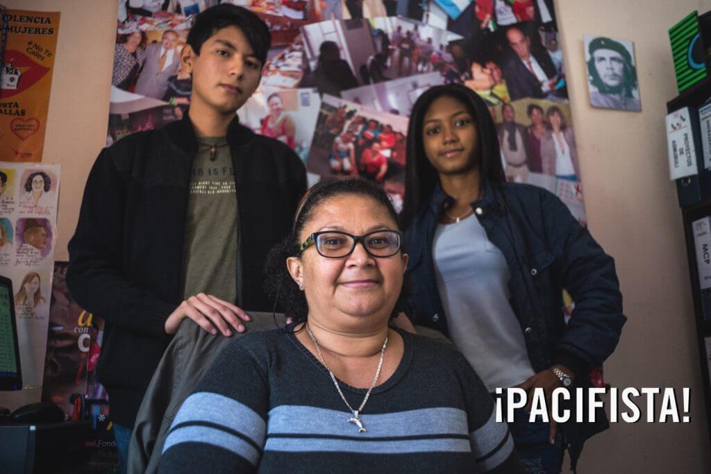 Charlamos con los hijos de la líder de las trabajadoras sexuales de Colombia
