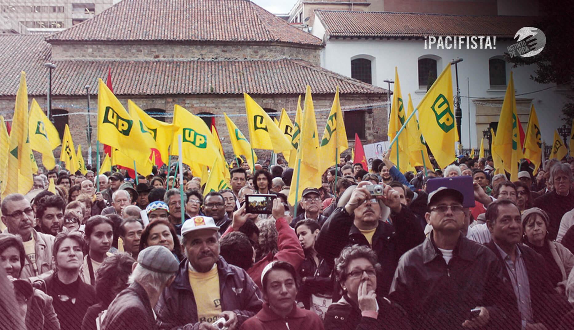'Hay síntomas para pensar que el genocidio de la UP puede repetirse'