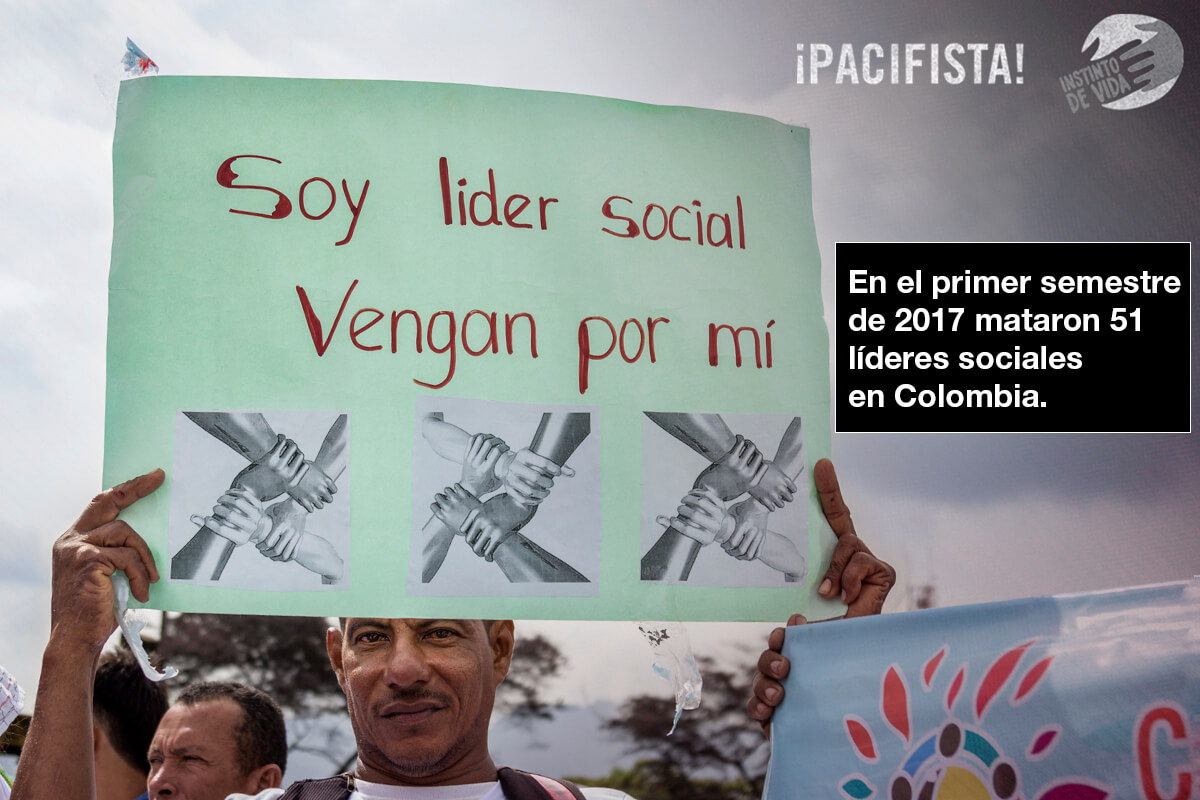 Así están matando y amenazando a los líderes sociales en Colombia