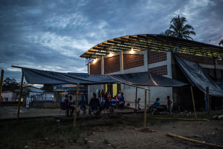 Exclusivo: Miedo y olvido. Cinco días con los 500 desplazados de Alto Baudó