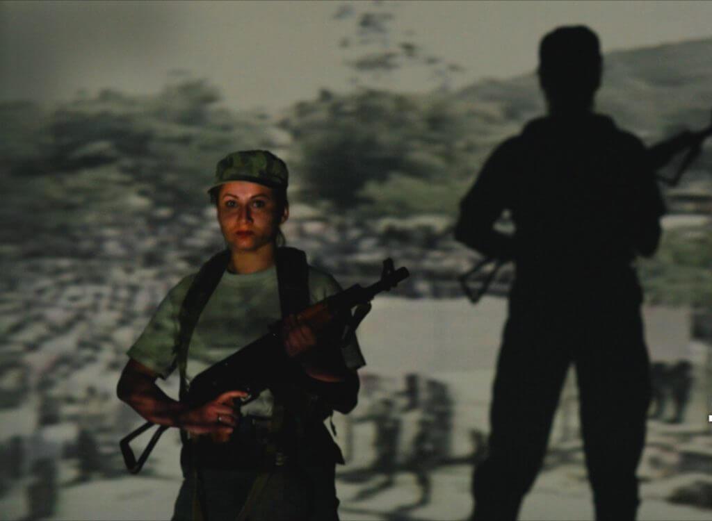 'Las mujeres se han encargado de reconstruir el país después de la guerra'