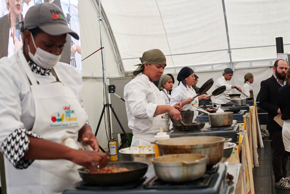 Gastronomía contra la guerra: cinco consejos de cocineros a las Farc
