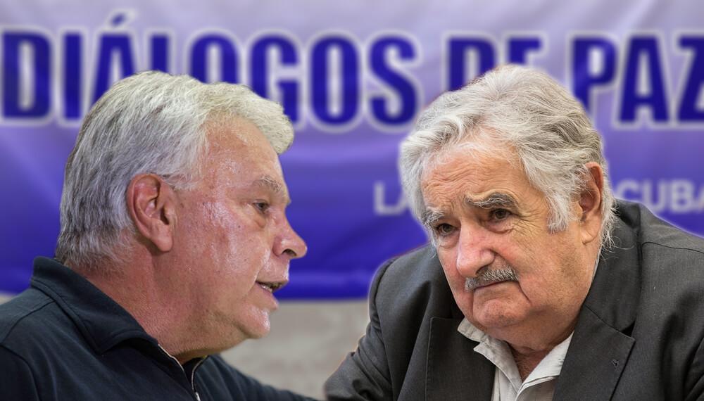 González y Mujica: de adversarios a verificadores de la paz en Colombia
