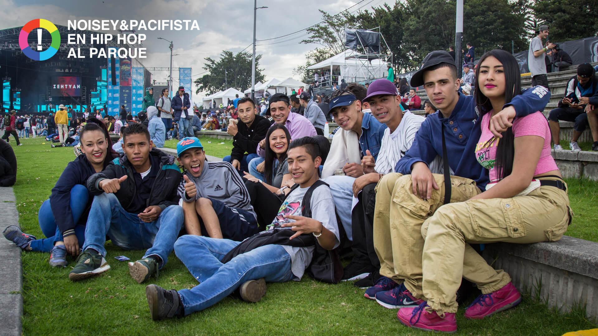 'Paz es pensar en grande sin ser agrandado': las frases de Hip Hop al Parque