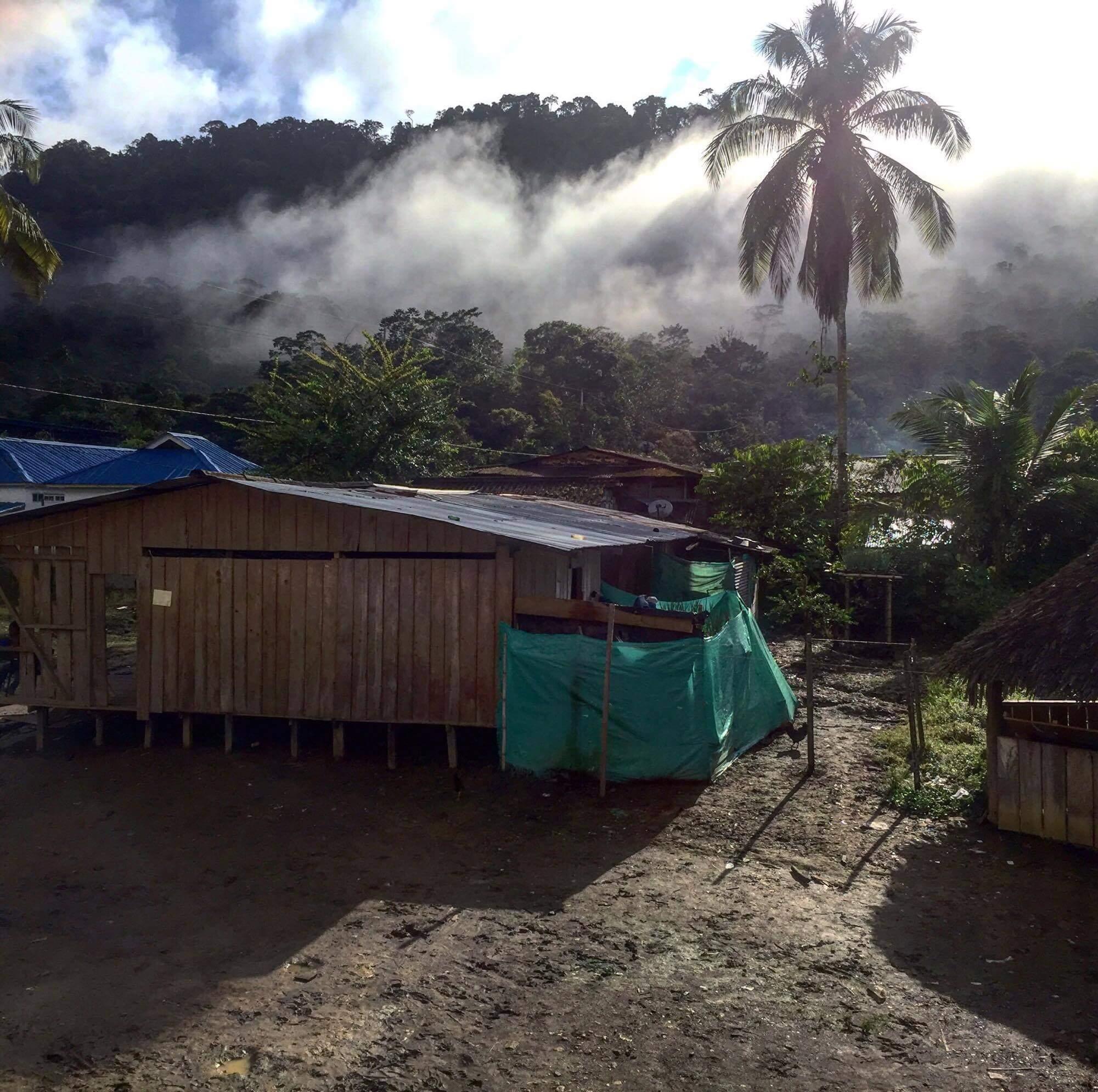 Hablamos con el reportero que acompaña hoy a los más de 300 desplazados de Alto Baudó