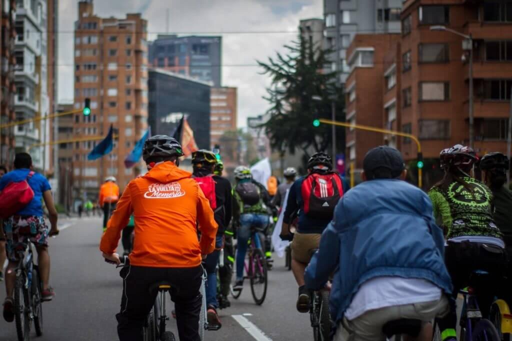 Hice el ciclopaseo que construye memoria en Bogotá