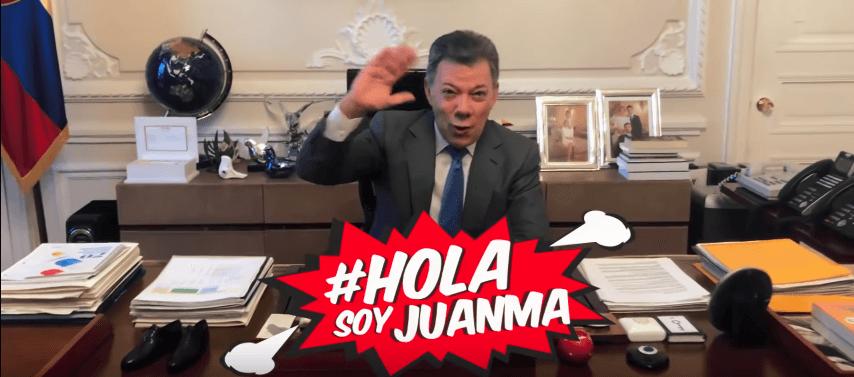 Santos 'youtuber': esto piensan la Farc y el Centro Democrático de #HolaSoyJuanma