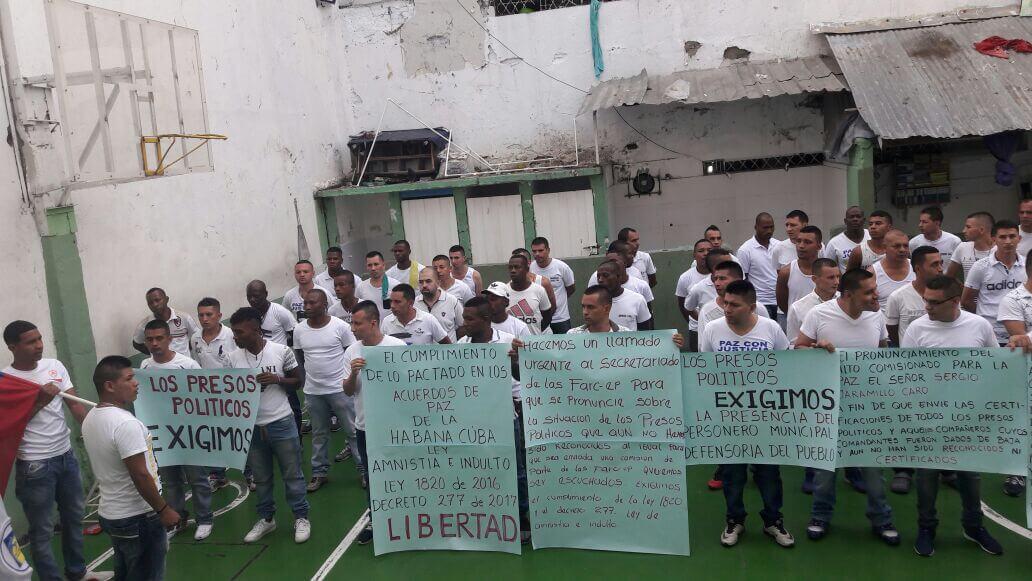 Así busca el gobierno acelerar la libertad de los guerrilleros presos