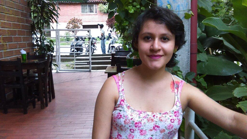 La joven que sobrevivió a un disparo de la Policía