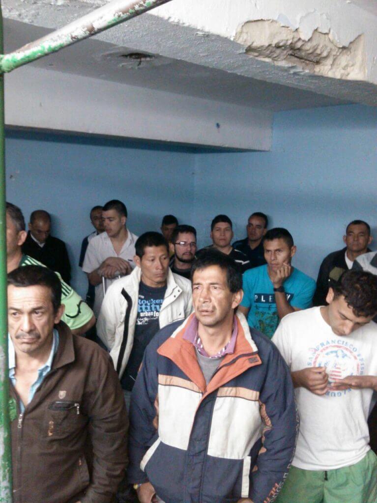 Un patio de La Picota se declaró en desobediencia civil por crisis en la salud