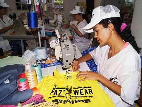 Paz Wear, la marca de ropa confeccionada por víctimas del conflicto