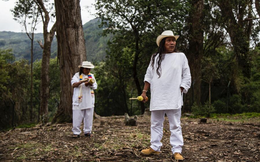 El museo invisible que construyeron los indígenas en Bogotá