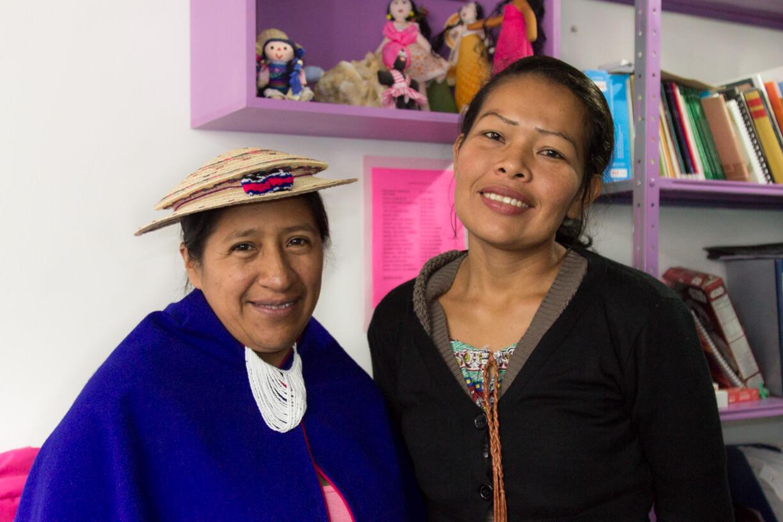 Así está llegando el feminismo a las comunidades indígenas