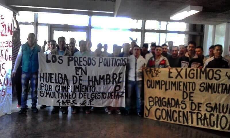 Así están las negociaciones entre el Gobierno y los presos de las Farc
