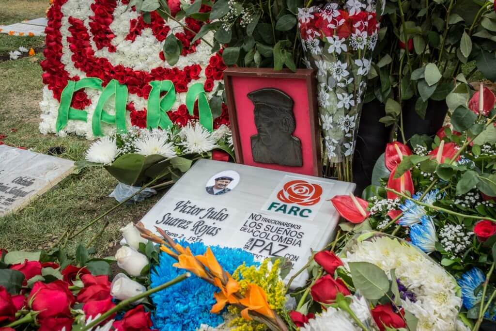 Estuvimos en el homenaje al guerrillero más odiado de Colombia