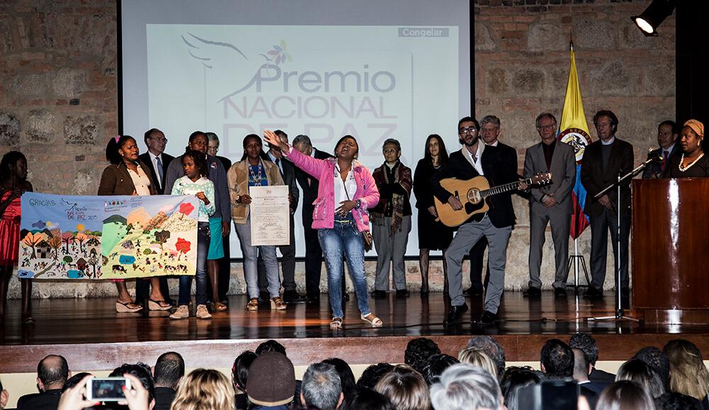 Estas son las mujeres que ganaron el Premio Nacional de Paz