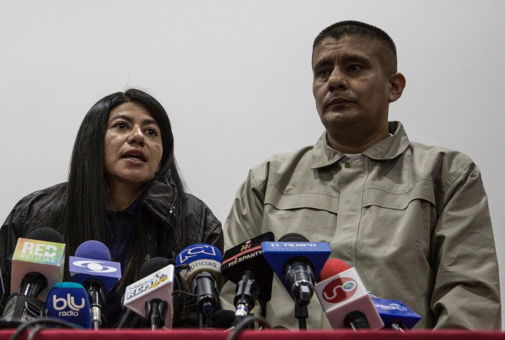 Guerrilleros indultados se pondrán al servicio de la paz