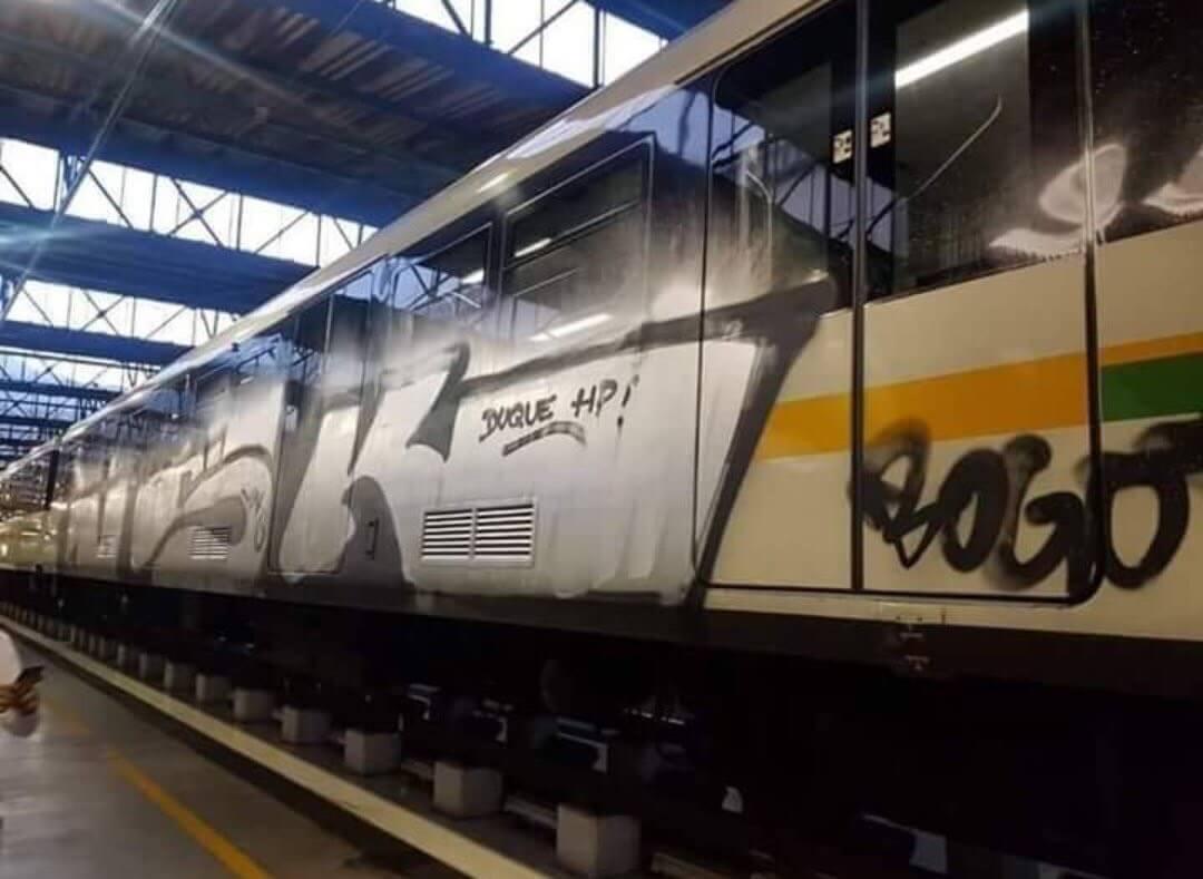 Caso de los grafiteros en el Metro de Medellín: no más 'buenos muertos'