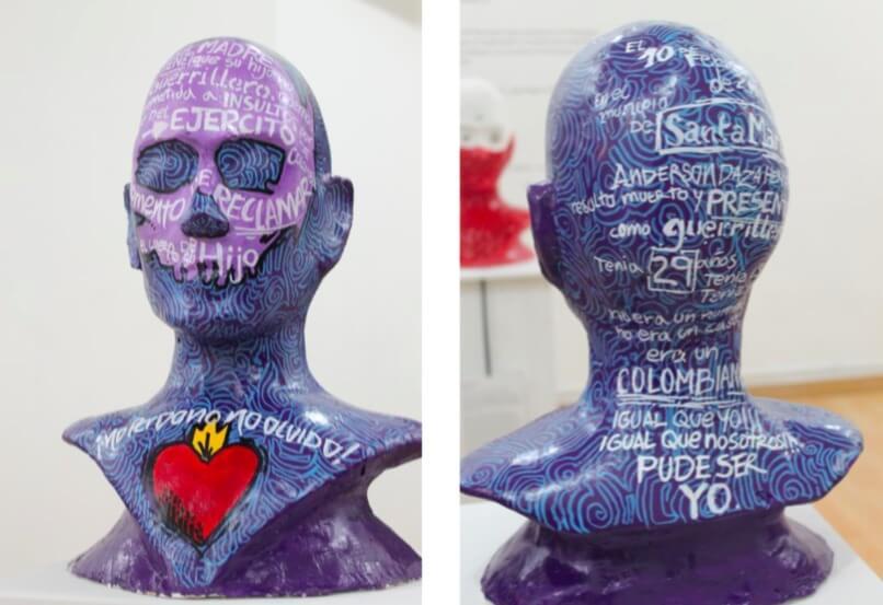 Inexactos Efectivos, esculturas que recuerdan a las víctimas de los 'falsos positivos'