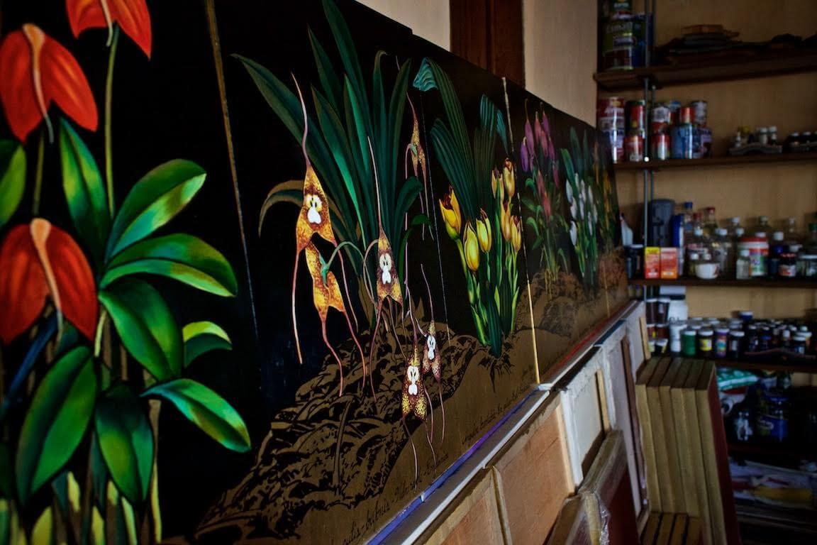 Jenaro Mejía: hacer paz con pintura
