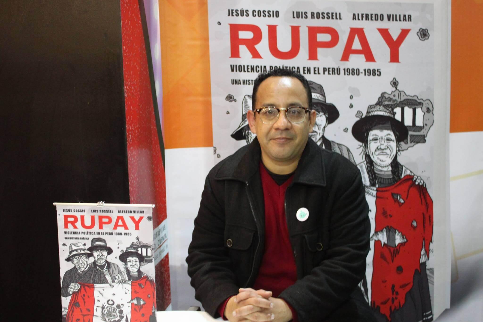 Cossio, el dibujante del conflicto armado en Perú
